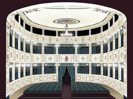 Il teatro real borbone - Progetto casa san severo ...