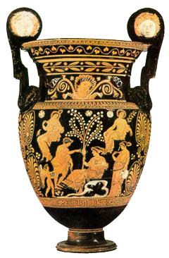 Dalla colonizzazione greca alla dominazione romana for Vaso greco antico