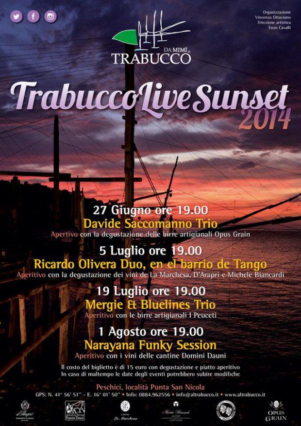 trabuccolive2014