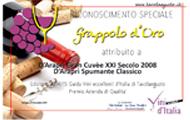 Riconoscimento da Guida VINI ECCELLENTI  D'ITALIA 2014-15