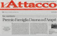 Premio Famiglia Dauna a d'Araprì