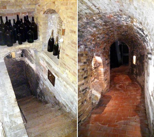 Cantina d'Araprì locali sotterranei