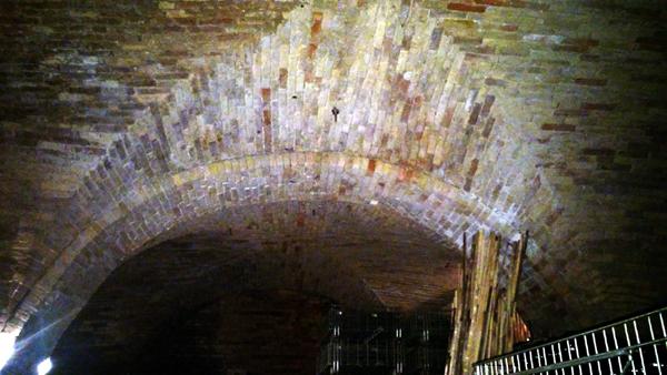 Cantina d'Araprì Volte in mattoni