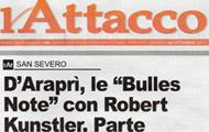 d'Araprì le Bulles Note con Roberto Kunstler