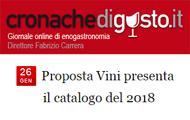 Proposta Vini presenta il catalogo del 2018 – I NOSTRI ASSAGGI