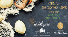 Cena Degustazione – Chef Cristian Del Grosso