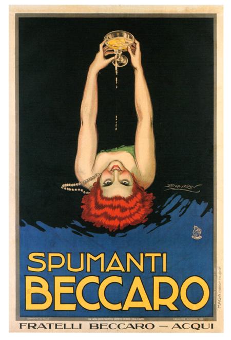 Lo Spumante Italiano attraverso i Manifesti