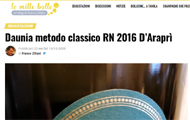 Daunia metodo classico RN 2016 d'Araprì